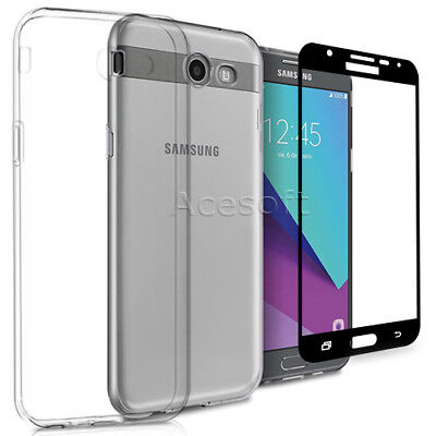 For Samsung Galaxy J7 Sky Pro S727VL Phone Screen Protector Soft Protective Case