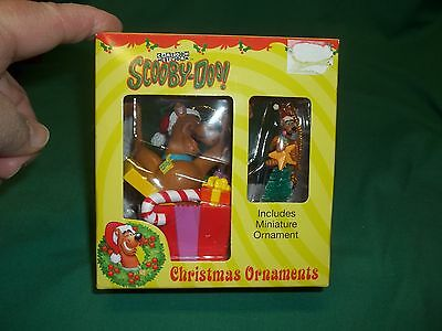 Cartoon Network Scooby-Doo! Christmas Collectible Ornaments 1 Reg/1 Miniature