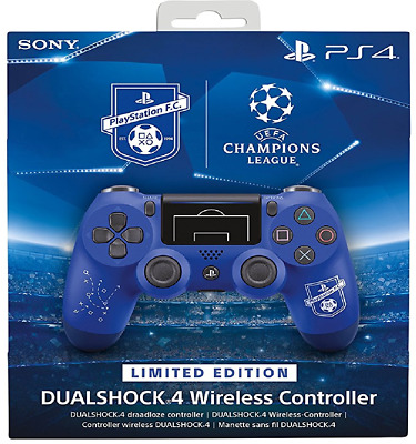 Official Sony Ps4 - Dualshock 4 Controller F.c. Champions League Limited Edition
