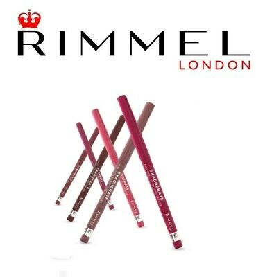 Rimmel Exaggerate Automatic Lip Liner 5 Different Shades for Every Taste
