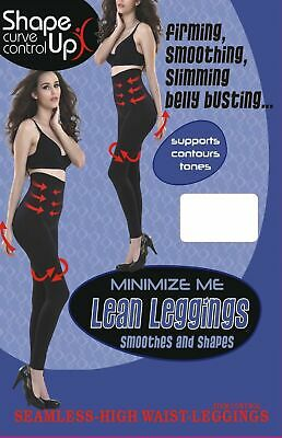 Slimming High Waisted Leggings Extra Firm Strong Tummy Control, Beauforme,8-30