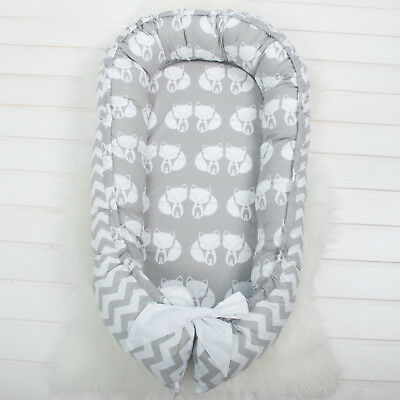 Foxy Baby Nest, nest bed, babynest, bedding, co sleeper, baby nest, newborn baby