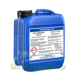 Tickopur R 33 5 ltr. Cleaning agent - universal cleaner for Ultrasonic cleaner