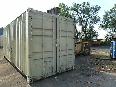Steel 20ft ISO Container   Anti Theft  Lockbox fitted  Delivery possible