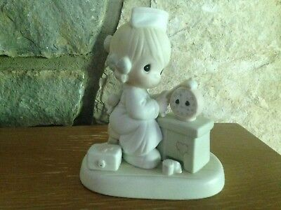 """Precious Moments 1990 """"Time Heals""""  523739  candle mark (discounted)"""