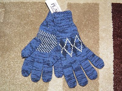 Boys The Children's Place Lined Knit Winter Gloves Size S/M(4-7)- NEW!