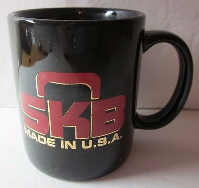 Vintage SKB Made in USA Black Coffee Mug