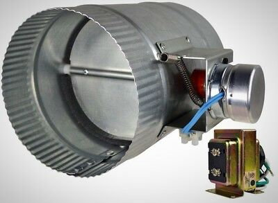 Automated Damper 6 in. Controls Temperature Improves Heating Cooling Efficiency
