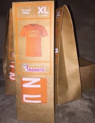 Dunkin Donuts Vintage Coffee - Tee Shirt 1950 - 2016 XL Collectible T-Shirt Rare