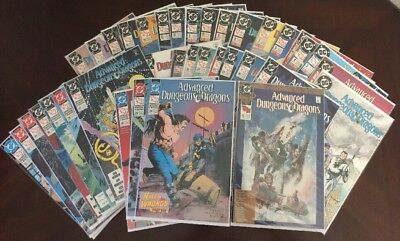 Advanced Dungeons and Dragons 1-36 + Annual 1 (DC, 1988-90) Complete Set!