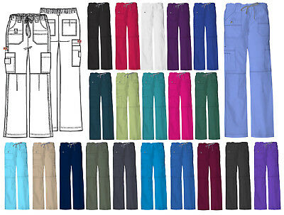 Dickies Gen Flex Multi Pocket Cargo Scrub Pant 857455 Choose Size & Color