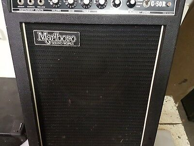 70's MARLBORO G 50 R AMP COMBO - made in USA