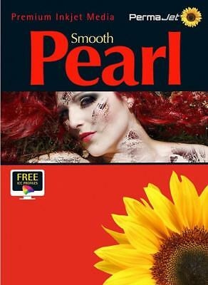 Permajet Smooth Pearl Photo Paper 280g 6x4'' Pack 100