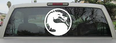 Mortal Kombat Sticker Vinyl Decal in Various Sizes & Colors