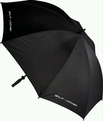 Joblot 4 Black Golf Locker Canopy Umbrellas