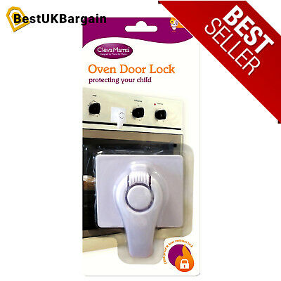 Oven Lock Clevamama Door Baby Protection Safety Child Proof And Toddler Guard