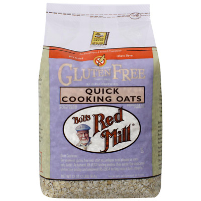 Bob's Red Mill Gluten Free Quick Cooking Oats 32 oz (2 lbs) (907 g) Pkg