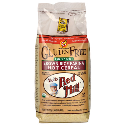 Bob's Red Mill Organic Brown Rice Farina Hot Cereal 26 oz Pkg