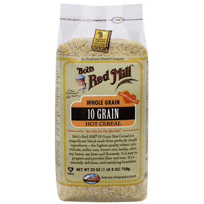 Bob's Red Mill 10 Grain Hot Cereal 25 oz (708 g) Pkg
