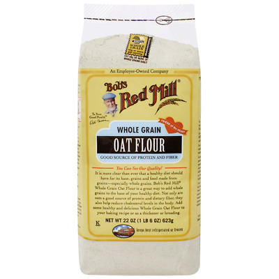 Bob's Red Mill Whole Grain Oat Flour 22 oz (623 g) Pkg
