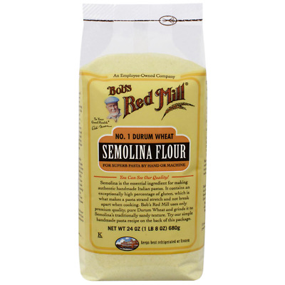 Bob's Red Mill Semolina Flour 24 oz (680 g) Pkg