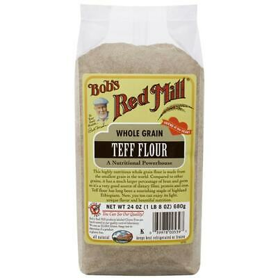 Bob's Red Mill Whole Grain Teff Flour 24 oz (680 g) Pkg