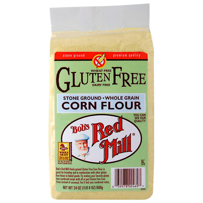 Bob's Red Mill Corn Flour 24 oz Pkg
