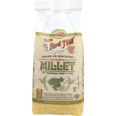 Bob's Red Mill Whole Grain Millet 28 oz (793 g) Pkg