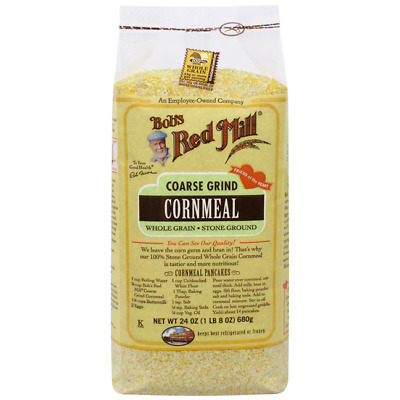 Bob's Red Mill Cornmeal Coarse Grind 24 oz (680 g) Pkg