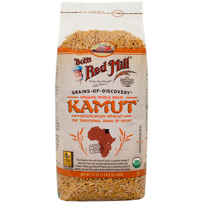 Bob's Red Mill Organic Whole Grain Kamut 24 oz (680 g) Pkg