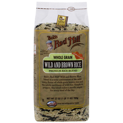 Bob's Red Mill Whole Grain Wild and Brown Rice Premium Rice Mix 27 oz Pkg
