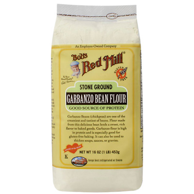 Bob's Red Mill Stone Ground Garbanzo Bean Flour 16 oz (1 lb) (453 g) Pkg