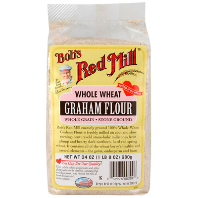 Bob's Red Mill Whole Wheat Graham Flour 24 oz (680 g) Pkg