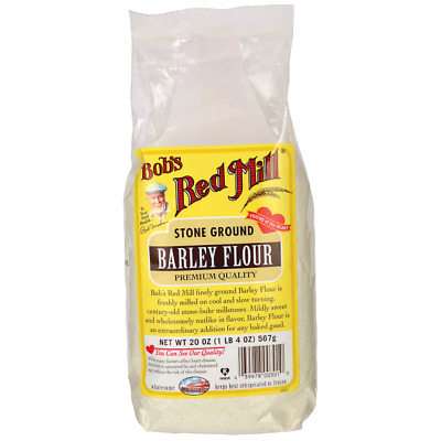 Bob's Red Mill Stone Ground Barley Flour 20 oz (567 g) Pkg