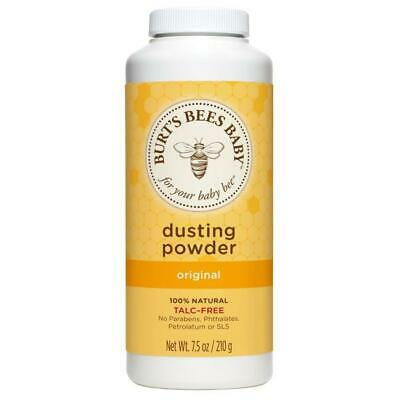 Burt's Bees Baby Bee Dusting Powder Talc Free - Original 7.5 oz (210 g) Pwdr