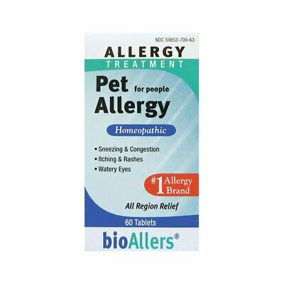 HOMEOPATHIC ALLERGY RELIEF Sneezing Runny Nose Red Itchy