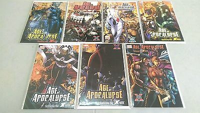 Marvel Limited Series Age of Apocalypse Full Run 1 2 3 4 5 6 + One Shot, VF+/NM