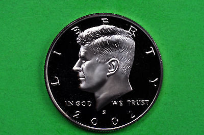 2002-S  SILVER Kennedy Half Dollar Deep Cameo US GEM Proof (90% SILVER)