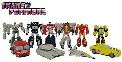 Hasbro Transformers Cake Toppers Set of 12 Figures - Optimus Prime Bumble Bee