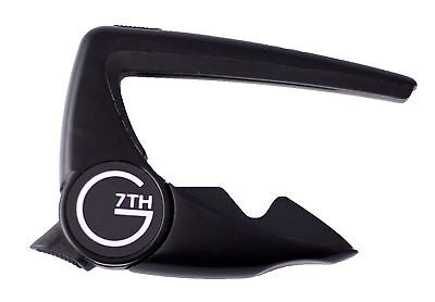 G7th PERFORMANCE 2 CAPO FOR 6 STRING ACOUSTIC GUITARS - BLACK