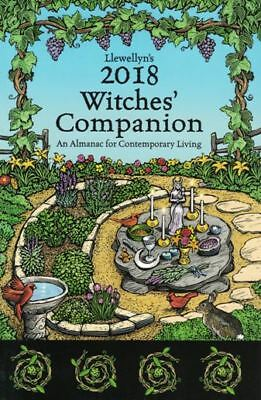 Llewellyn's 2018 Witches' Companion - An Almanac for Contemporary Living NEW