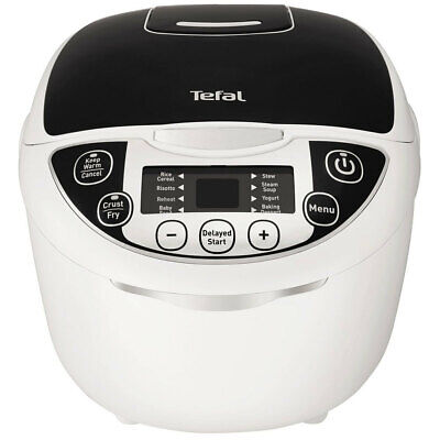 Tefal 10 in 1 Rice and Multi Cooker 750W/5L LED Display Slow Cook/Steamer/Steam