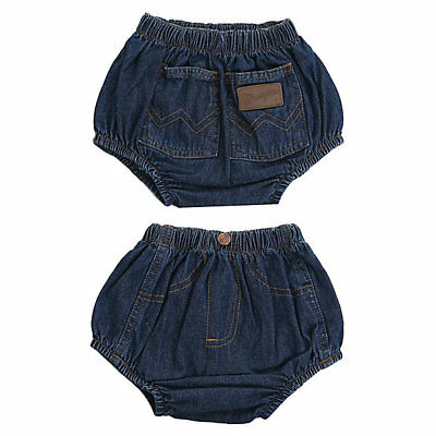 Authentic Wrangler Baby DENIM DIAPER COVER 24 Mth WRASCALS FREE SHIPPING