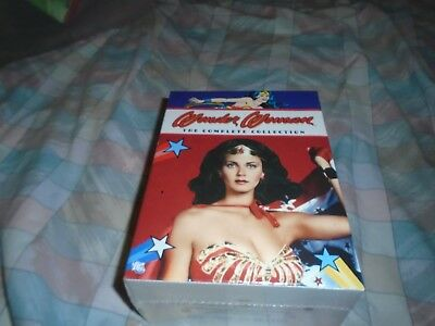 New and Sealed Wonder Woman - The Complete Collection (DVD, 2007, 11-Disc Set)