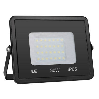 LE 30W 2400lm LED Outdoor Flood Lights Waterproof Daylight Super Bright Lighting