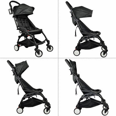 Compact Lightweight Baby Stroller Pushchair Pram Easy Fold Travel Carry on Plane