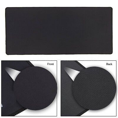 900x400X3mm Large Black Water-resistant Game Mouse Pad Mat Office Desk Mousepad