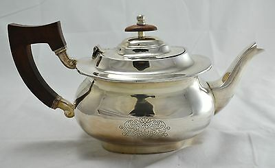 N7426 N° Magnifica Teiera Teapot In Argento Sheffield Collection