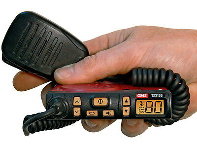 Gme 80 Channel Tx3100 Uhf Cb Radio 5W 24V To 12V Voltage Convertor Included