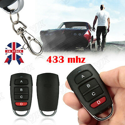 Universal Cloning Electric Gate Garage Door Remote Control Key Fob 433mhz/Cloner